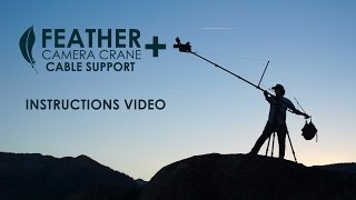 feather camera crane plus set up instructions