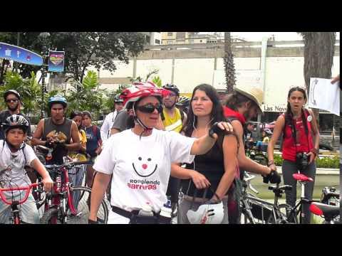 Rodada Masiva Día Nacional de la Bicicleta Venezuela 2014 (Caracas)