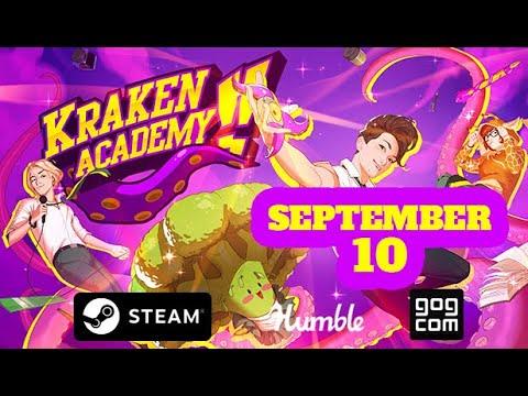 Kraken Academy!! Coming to PC on September 10 - Trailer