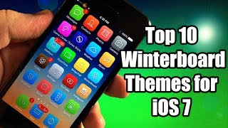 Top 10 Best Winterboard Themes for iOS 7 - iPhone, iPod
