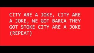 Manchester United chants about the scum (city)