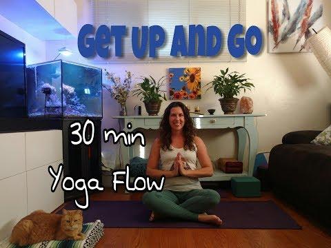 Get Up and Go!  ~30 min Morning Vinyasa Yoga Flow~
