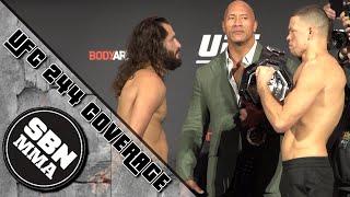 UFC 244 Weigh-Ins | Nate Diaz vs. Jorge Masvidal, The Rock, Kelvin Gastelum vs. Darren Till
