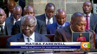 Matiba memorial service held in Nairobi