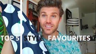 Men's Style August Favourites 2016 | Darren Kennedy