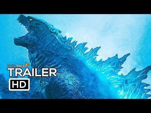 Play GODZILLA 2 Official Trailer #2 (2019) Millie Bobby Brown, King Of The Monsters Movie HD