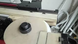 Bending machine for PVC material