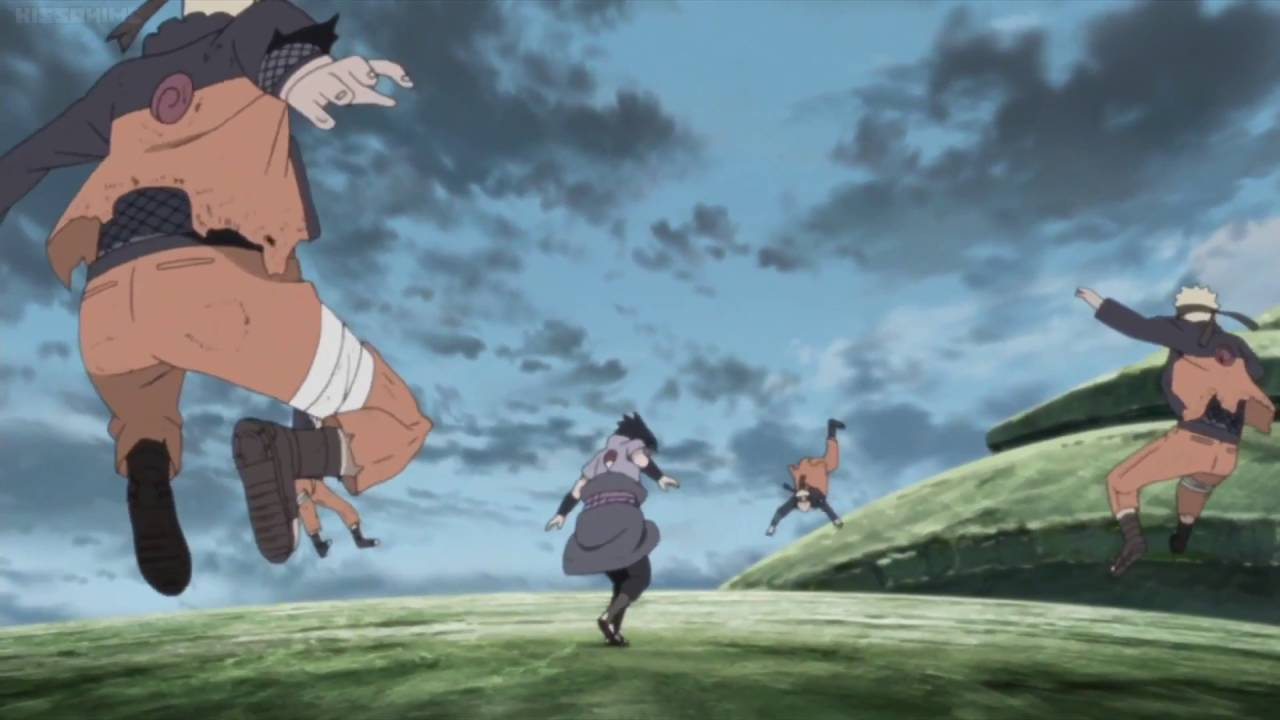 Naruto vs Sasuke Final Fight (Taijutsu) HD