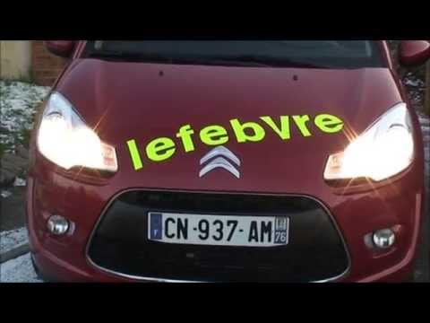 Permis de conduire Verifications Extérieures Citroen C3