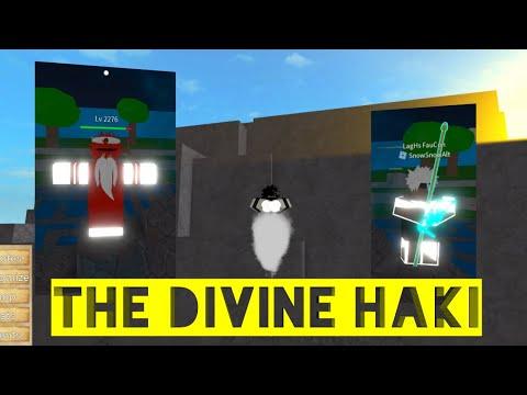 The Divine Haki-One Piece Legendary-Roblox-Haki