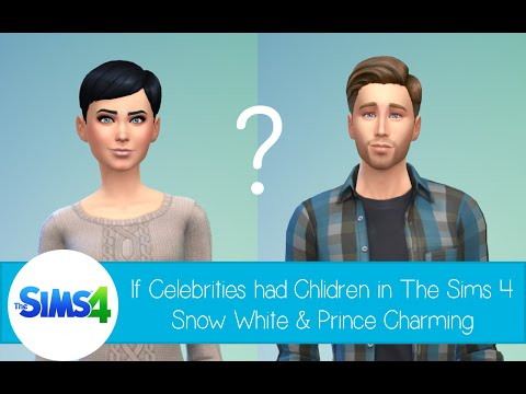 If Celebrities Had Children in The Sims 4: Snow White and Prince Charming from Once Upon a Time