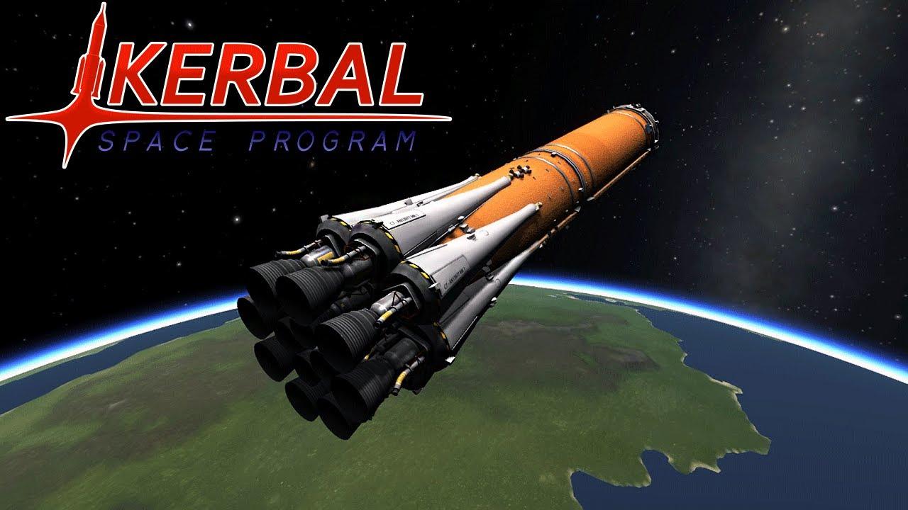 国際宇宙開発センターへようこそ。 / Kerbal Space Program Demo - YouTube