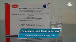 Rusia afirma tener ya una vacuna aprobada y lista para iniciar su programa de inoculación. Pero la OMS alerta que, pese a existir diversas vacunas en fase final de pruebas, la efectividad de las mismas estaba por ser demostrada
