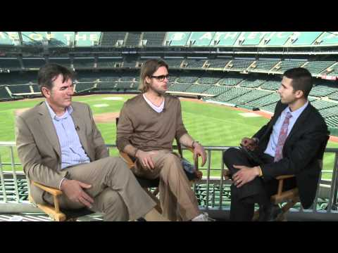 Money Ball: David Nuno Interviews Brad Pitt & Billy Beane