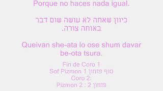 Daniela Romo - Explórame | Hebreo | סרוק אותי | מתורגם לעברית