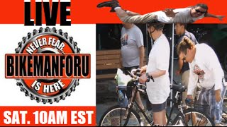 "BikemanforU LIVE 8/15/15 ""The Times Are Changing"" S3E32"
