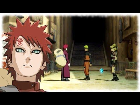 Naruto guards Gaara - Temari becomes Angry - Naruto Shippuden Ultimate Ninja Storm 3 Gameplay