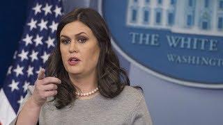 LIVE: White House Briefing with Press Secretary Sarah Huckabee Sanders 4/25/18
