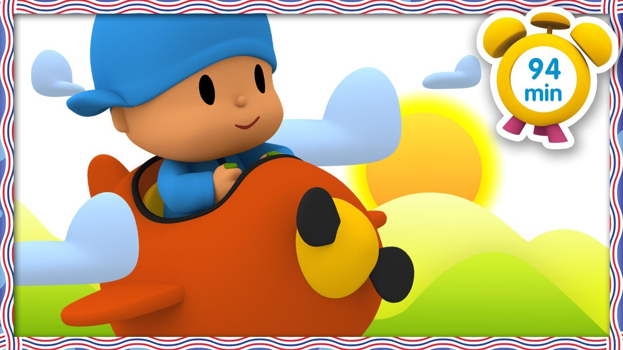 🧳 POCOYO in ENGLISH - Travel Around The World [94 min]   Full Episodes   VIDEOS & CARTOONS for KIDS