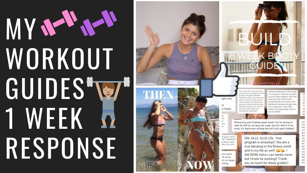 WORKOUT GUIDES – 1 WEEK RESPONSE, RESULTS IN JUST 1 WEEK?!