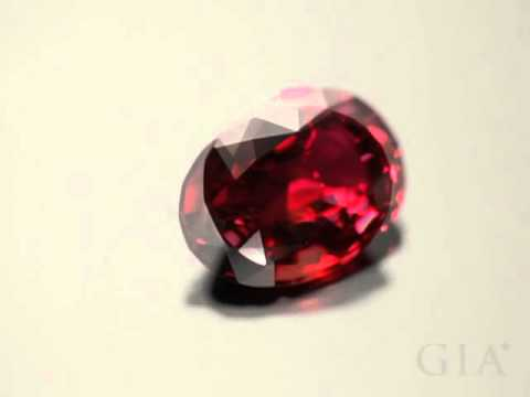 Faceted Red and Pink Spinel | GIA