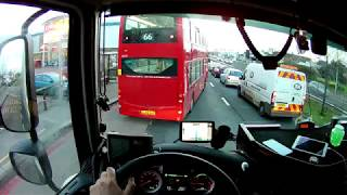POV Drive UK - Truck driving - DAF xf 106 460 - Traffic and highway