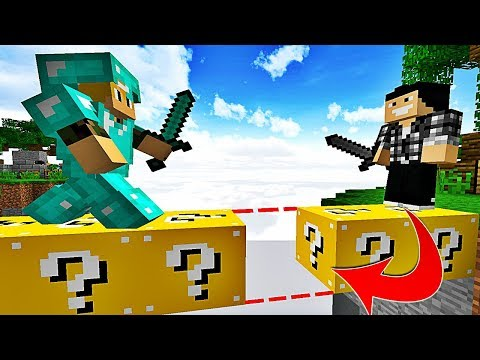 PERSONNE NE PEUT VOIR CE PIÈGE INVISIBLE ! | Minecraft Bed Wars Lucky Block