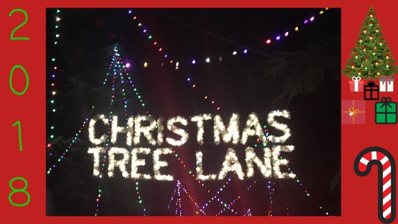 Christmas Tree Lane 96th Year 2018 Fresno California Youtube