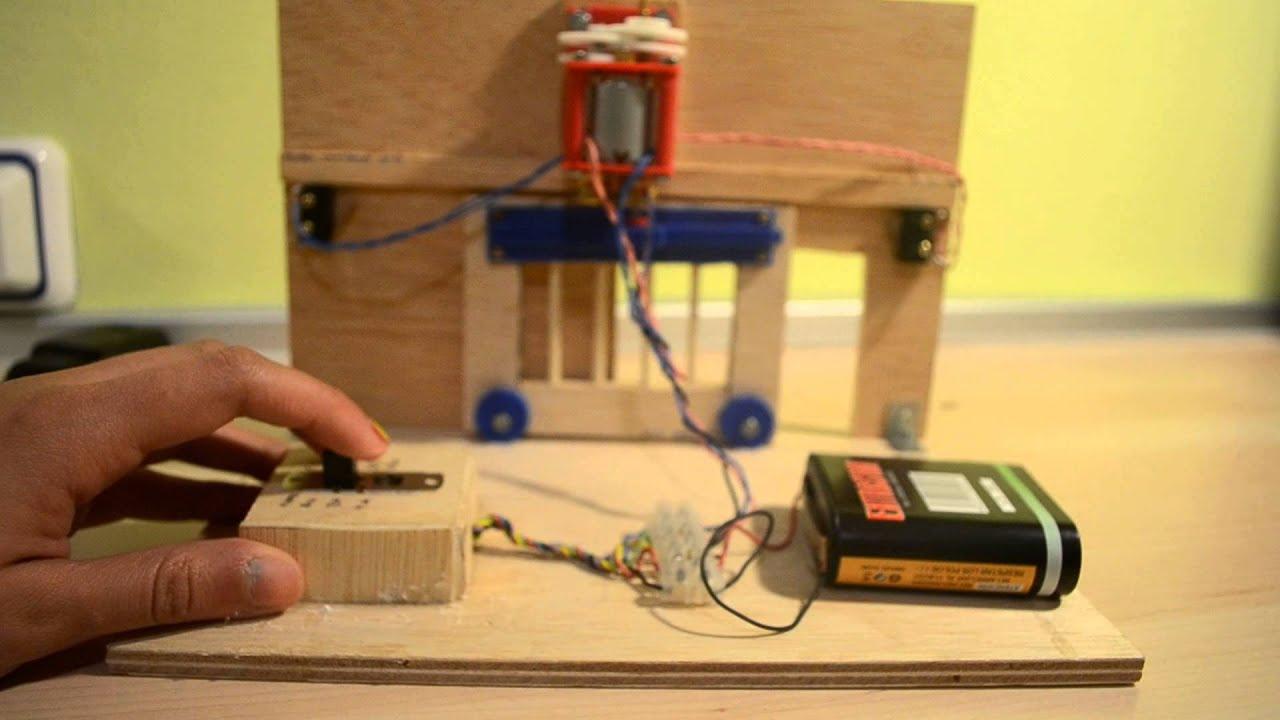 Porta de garaje tecnolog a 3 eso d youtube - Proyecto puerta de garaje ...