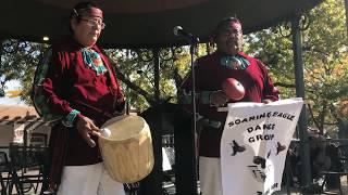 Indigenous Peoples Day Celebration 2017 -  Zuni Pueblo - Soaring Eagle Dance Group Clip 4