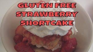 Strawberry Shortcake ~ Gluten Free Strawberry Beer Biscuits