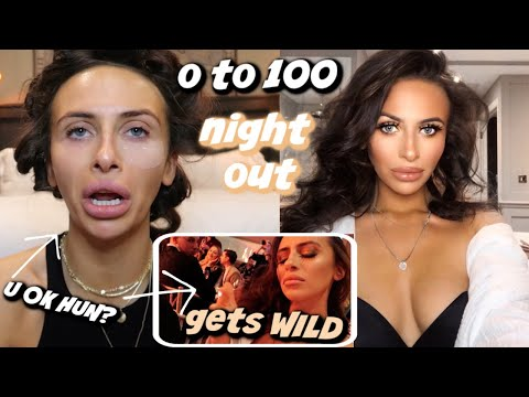 O TO 100 NIGHT OUT GRWM (anxiety lol)