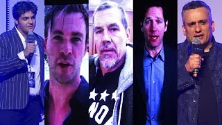 Thor, Thanos & Dr Strange Massage To INDIA At The Launch Of AVENGERS ENDGAME MOVIE Anthem-Joe Russo