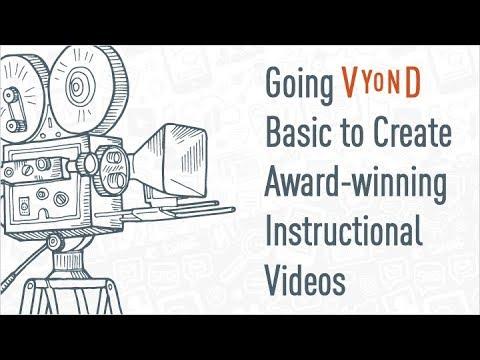 Webinar: Going Vyond Basic To Create Award-winning Instructional Videos