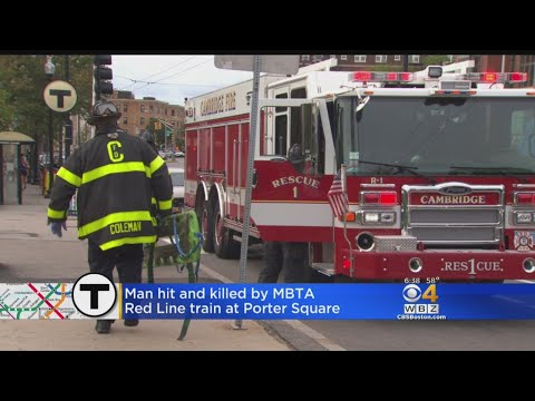 Man Hit, Killed By MBTA Red Line Train At Porter Square