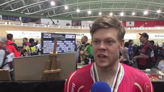 Lasse Norman Hansen efter VM-sølv i parløb 2019