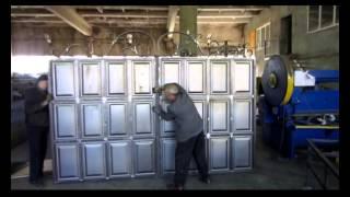 филенка металлическая  Филенчатые ворота изготовление(, 2013-10-24T05:03:18.000Z)