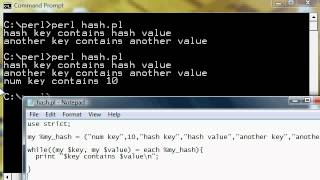 PERL # 29 - HASH Introduction & Basic Key Sorting