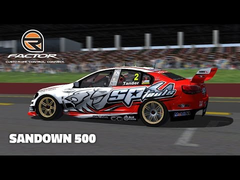 rFactor: Sandown 500 (V8 Supercar @ Sandown)