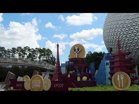 Eating All The Food At Epcot's Food & Wine Festival 2016 At Walt Disney World!!