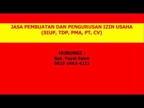 0822-1663-4311, Jasa Pembuatan Siup Bandung, Jasa Pengurusan Siup di Bandung