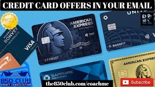 I Got A Credit Card Offer In My Email! Now What? - Budget, Credit Karma, Dave Ramsey, Report, No CPN