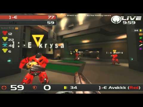 QuakeCon 2011 - TDM Groups Round 3 Salivating Monstahz vs ufx