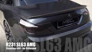 MEC Design Mercedes R231 SL63 AMG Exhaust - Apocalypse Sound Version