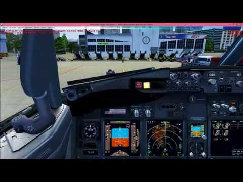 FSX HD Splendid landings on extreme weather and breathtaking sceneries PART 4