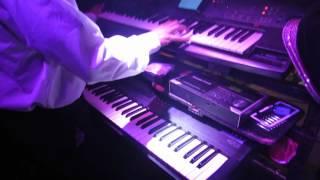 Popurri Chicas-Sabas Yagüe, teclados (Orquesta Denver, en directo) 1080HD