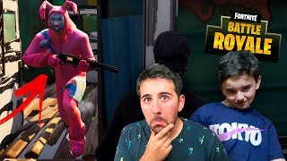 ESCAPA DE JASON EN PATIO DE JUEGOS !! CON MIS PRIMOS * FORTNITE: Battle Royale * - ElChurches