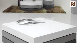 Trio-2 - Lacquer 3 Tone Square Coffee Table Vggu801ct-2
