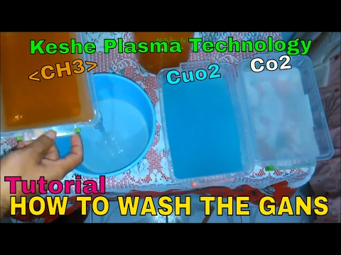 How to wash the GANS from salt water, tutorial, free energy, learning mr.keshe's plasma technology