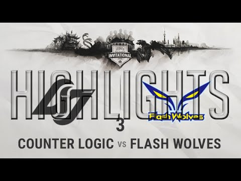 CLG vs FW G3 Highlights Semi-final MSI 2016 - Mid Season Invitational 2016 - CLG vs Flash Wolves